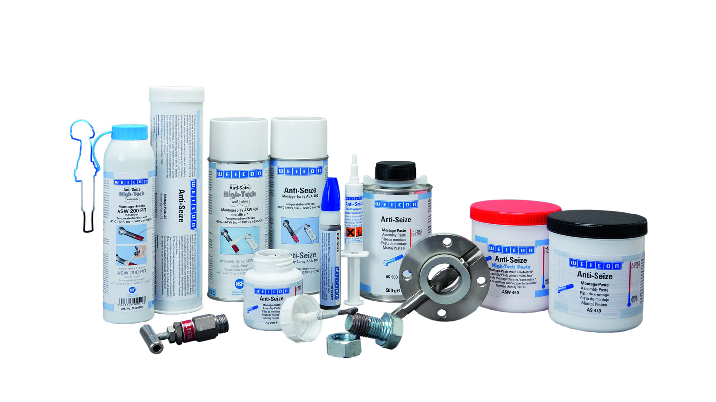 Logo High-performance Assembly Pastes and Sprays (Anti-Seize)