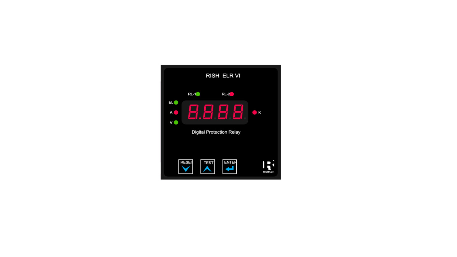 Logo Digital Earth Leakage Relay (96 x 96 mm)