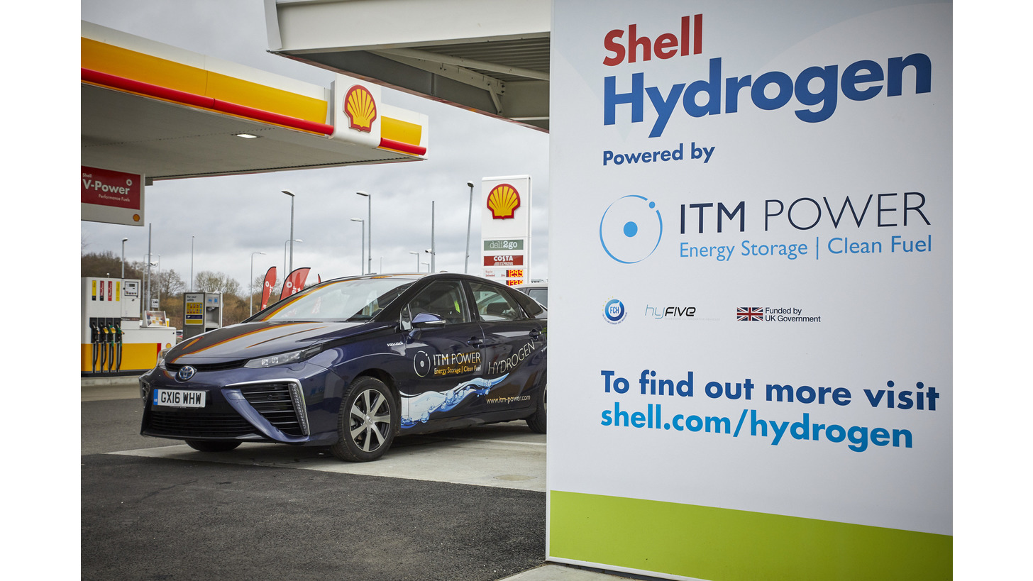 Logo Hydrogen fuel stations