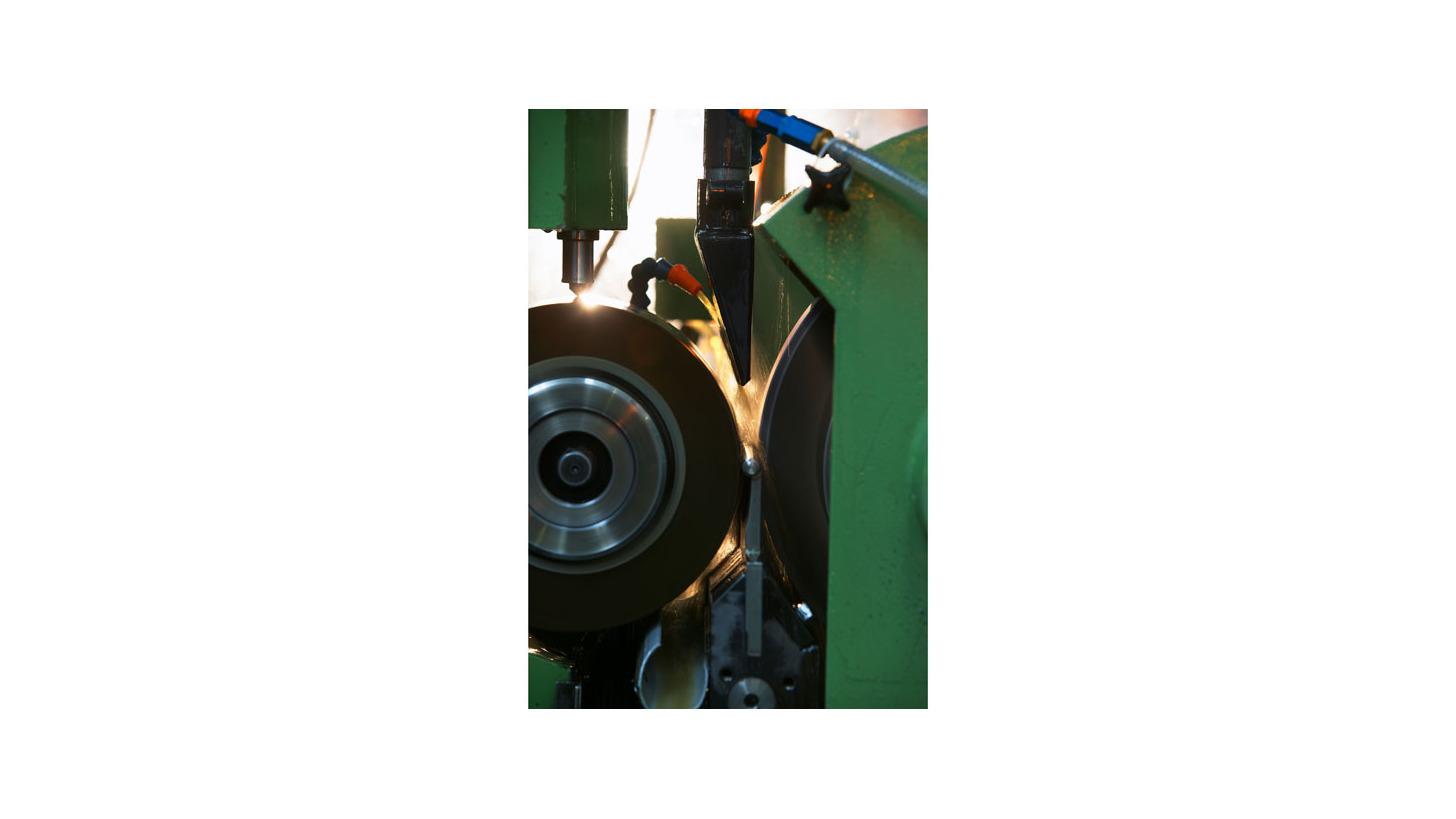 Logo grinding
