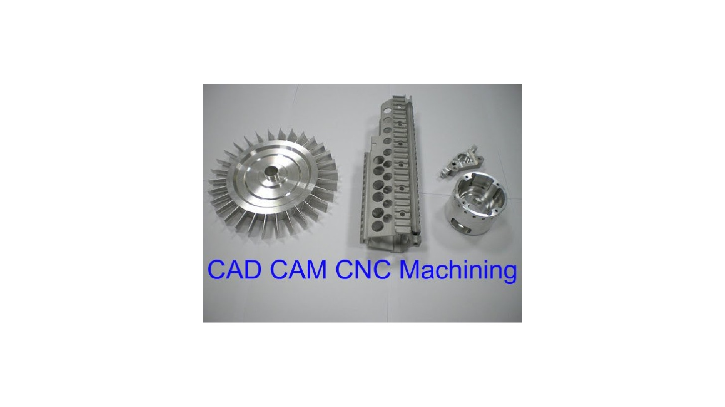 Logo CNC machined parts