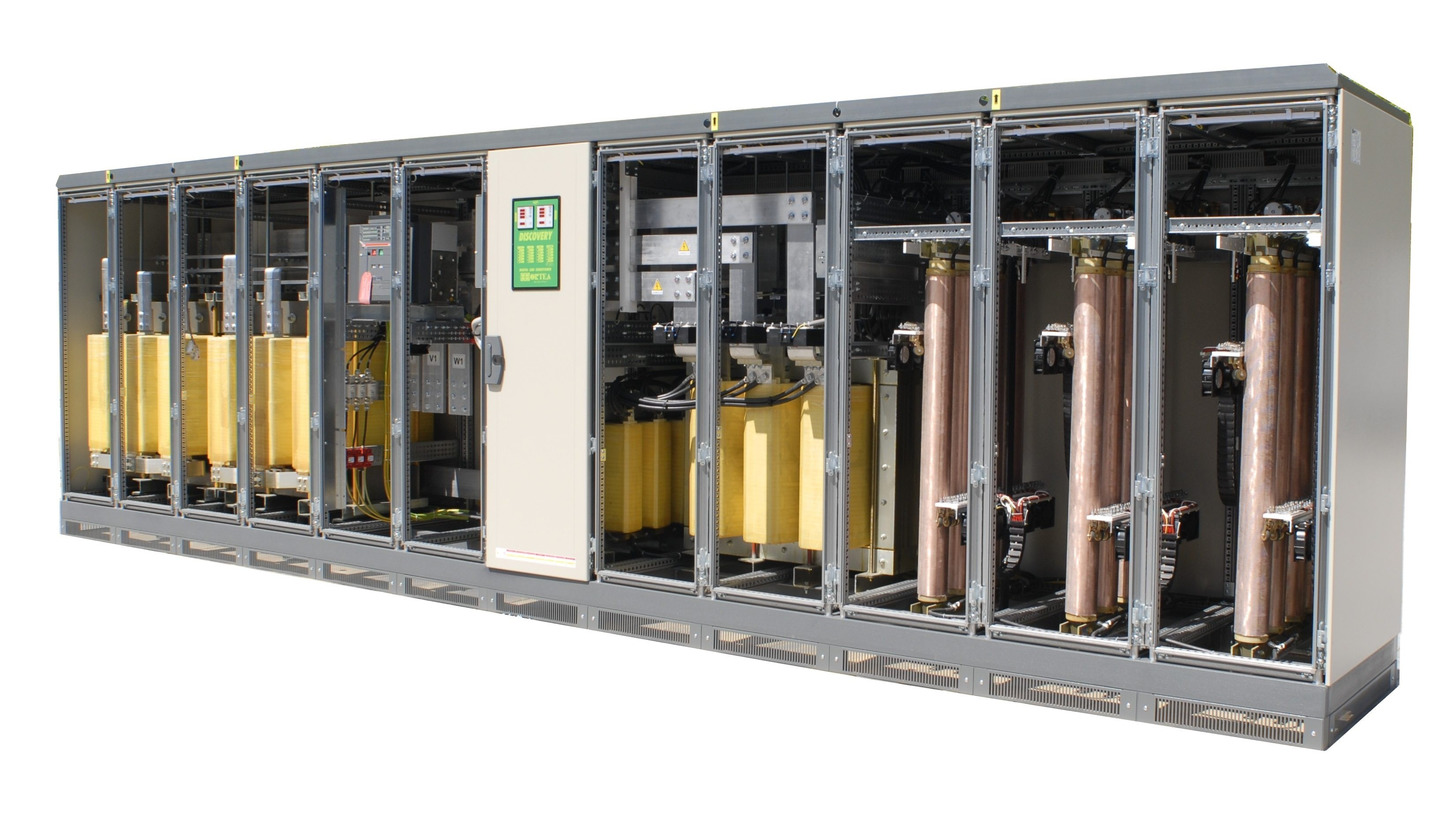 Logo automatic voltage stabilizers 2000 kVA (AVR)