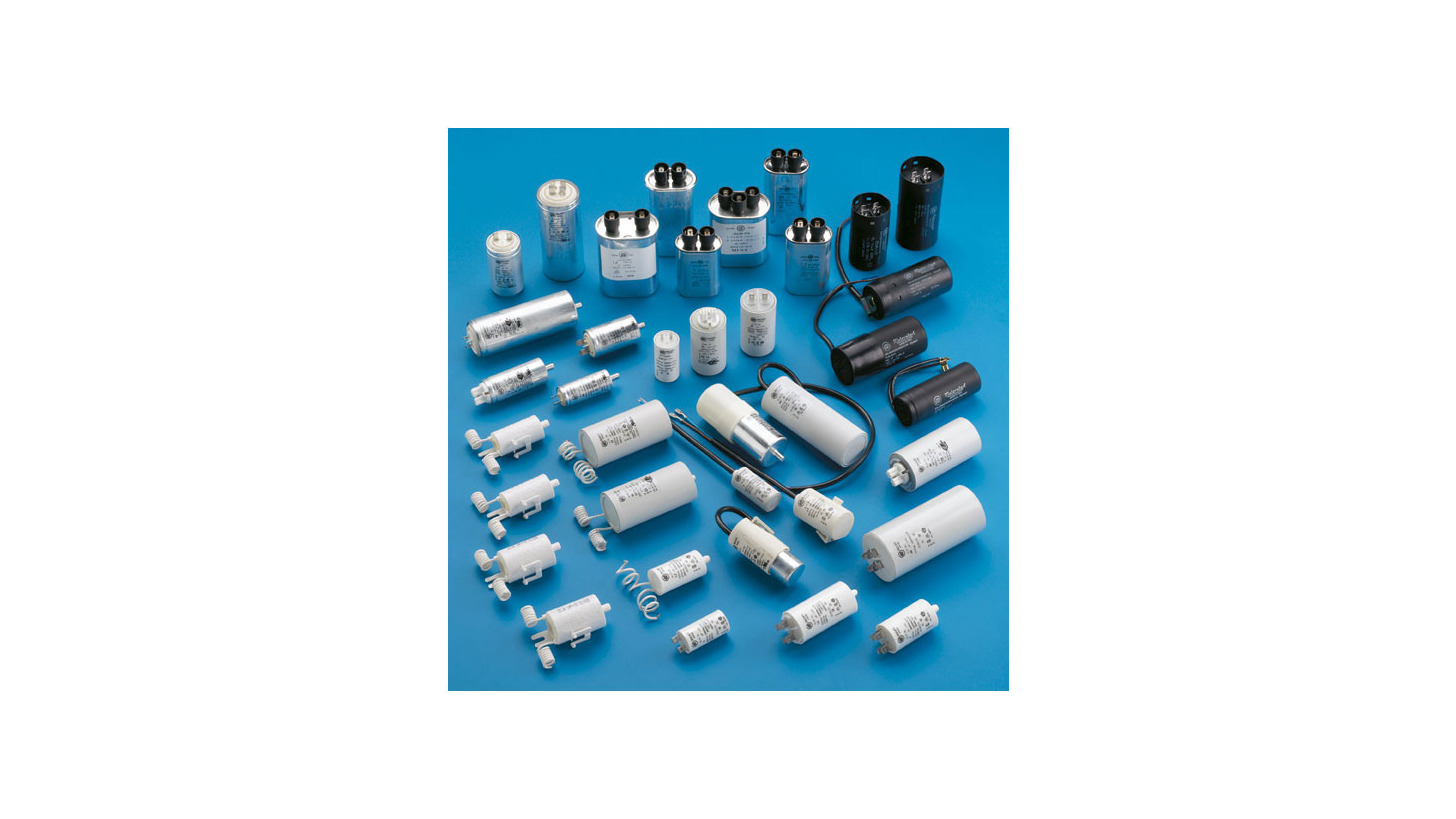 Logo Industrial Capacitors for Motors and Lighting