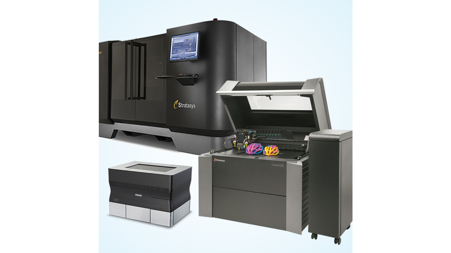 Logo 3D-Drucker PolyJet-Technologie