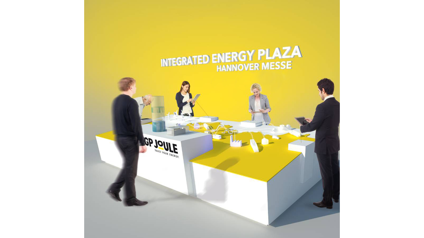 Logo Integrated Energy Showcase von GP Joule