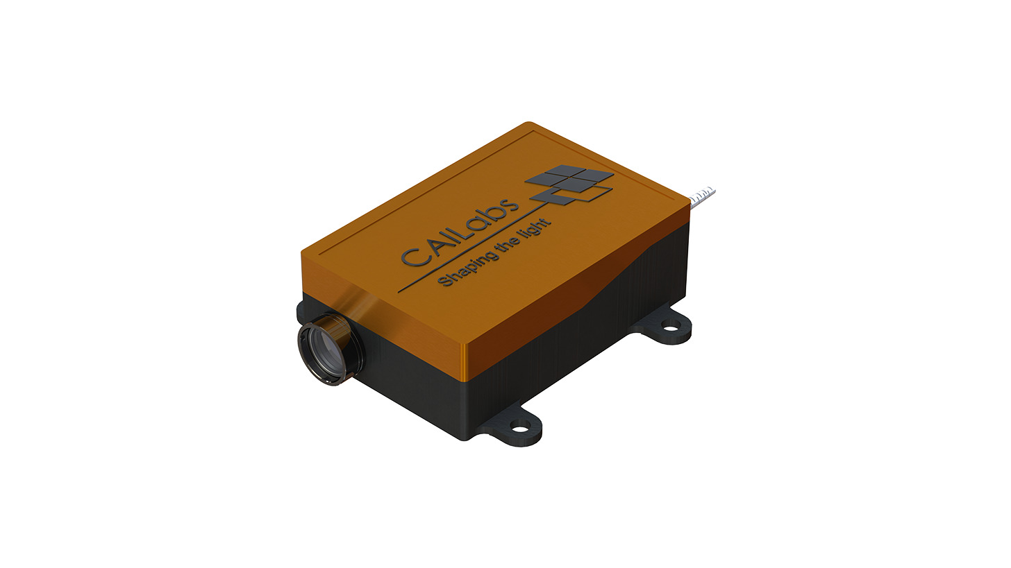 Logo High-energy laser beam shaper module