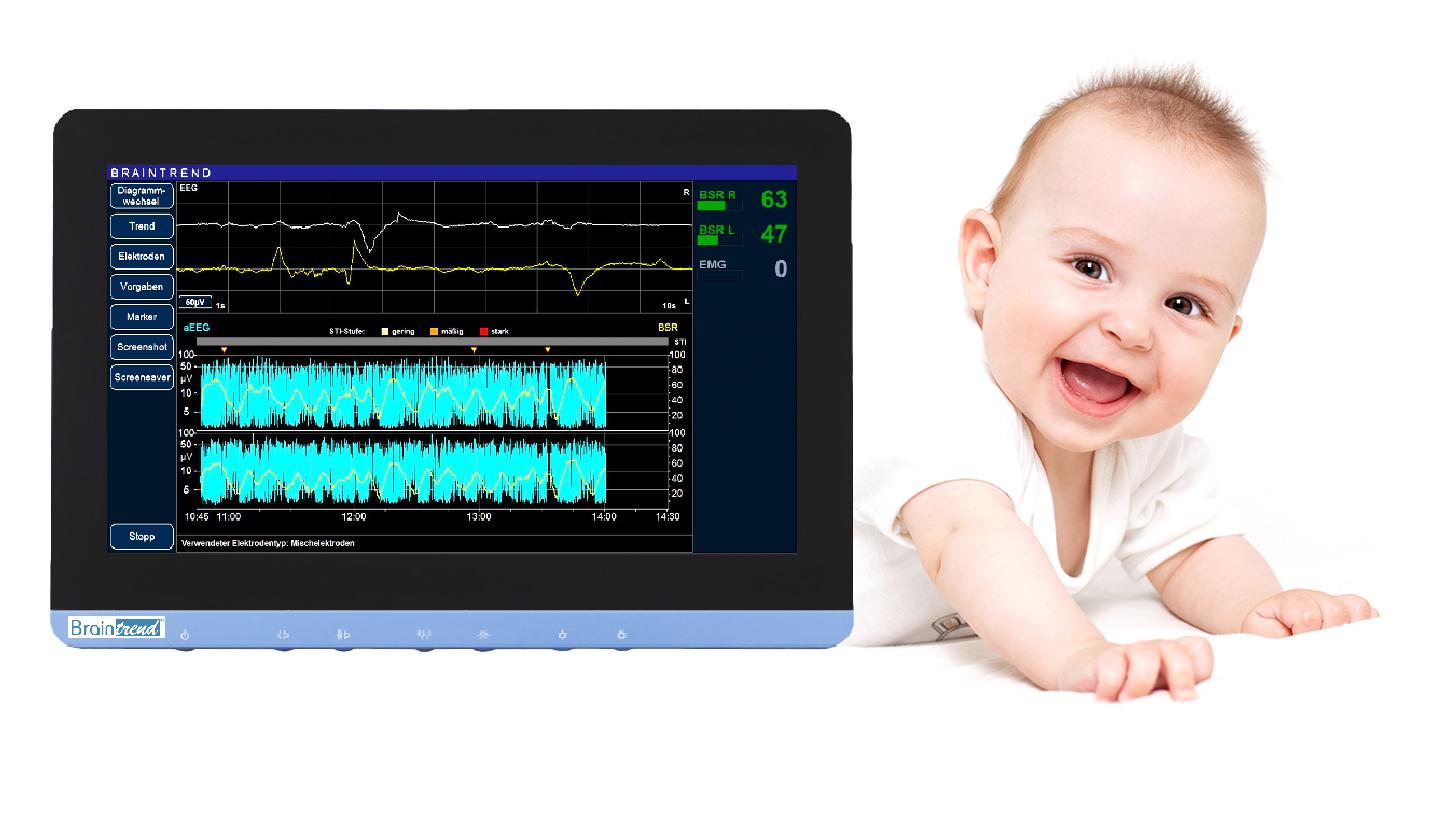 Logo Braintrend, for neonatology / pediatrics