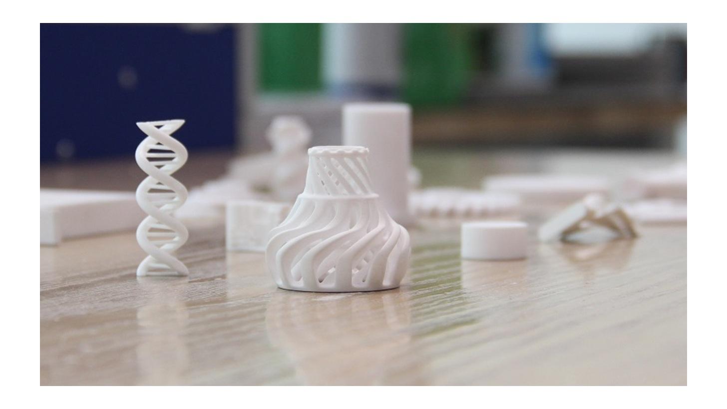 Logo Ceramics 3D Printing