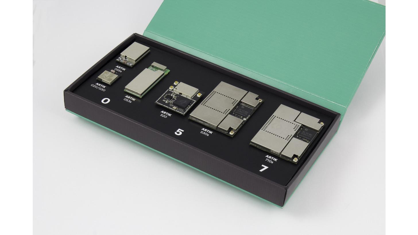 Logo Samsung ARTIK System-on-Modules for IoT