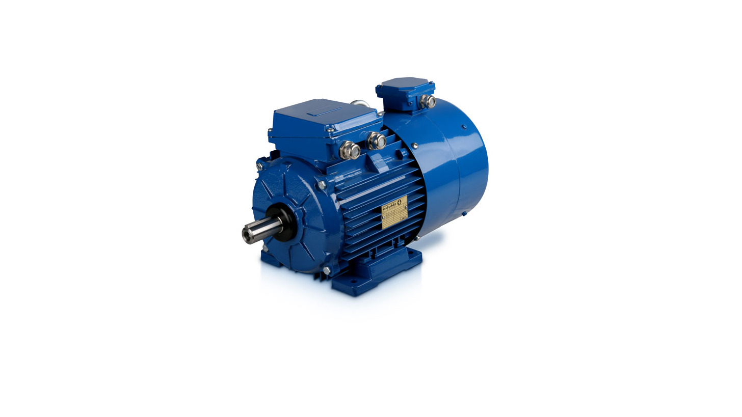 Logo 3-phase motors with foreign cooling