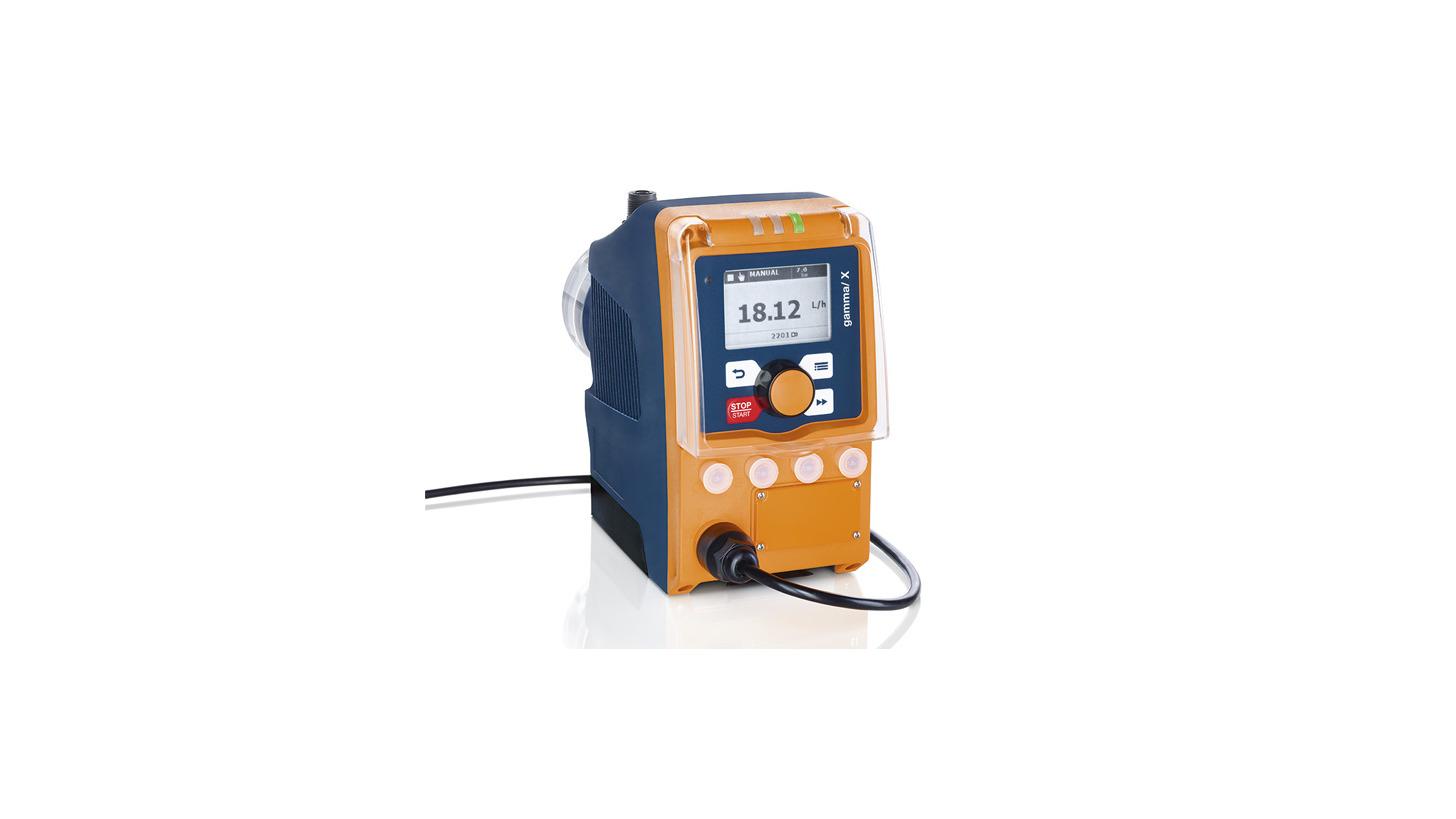 Logo Solenoid Driven Metering Pump gamma/ X
