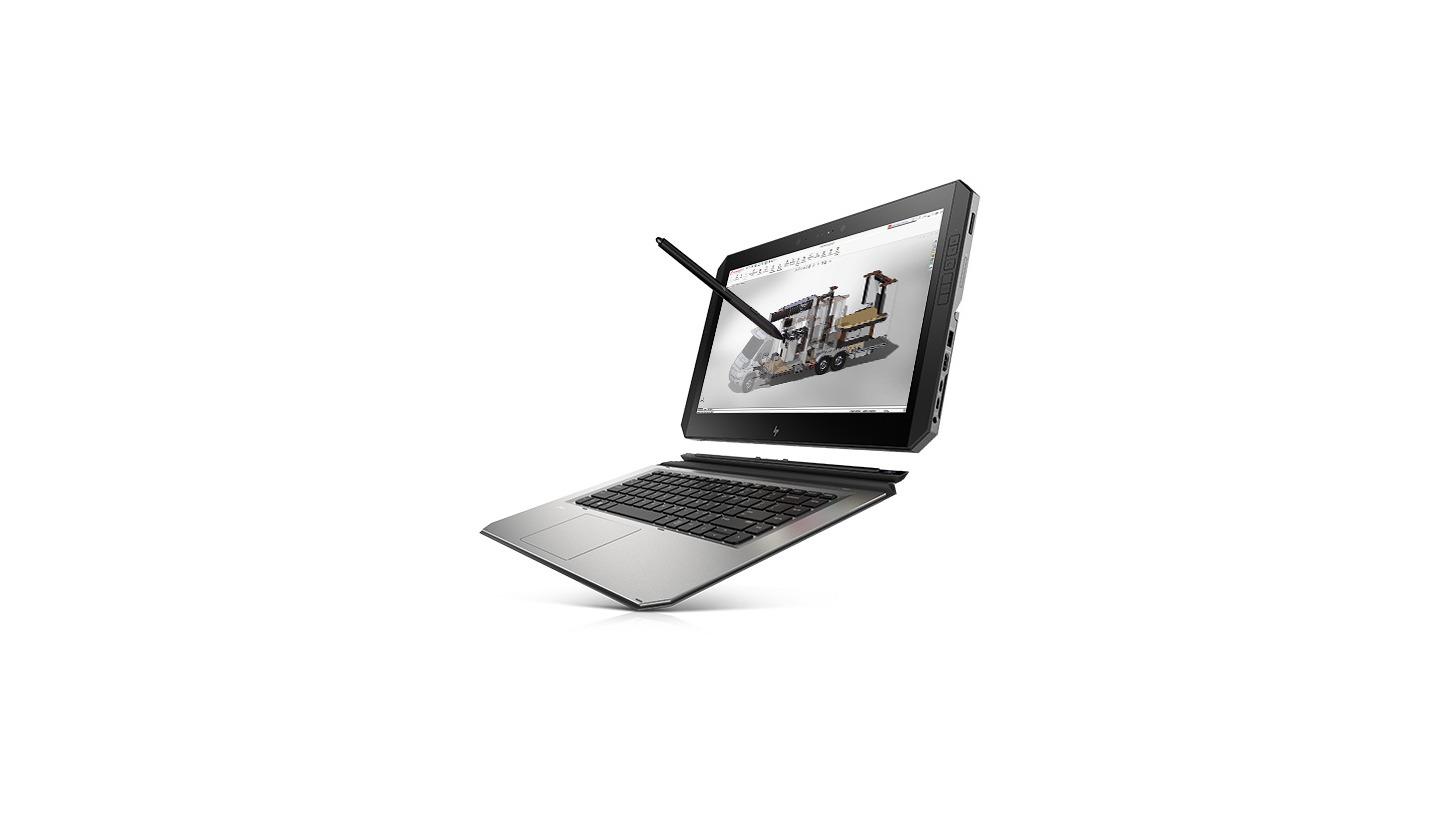 Logo Hardware von HP und 3Dconnexion