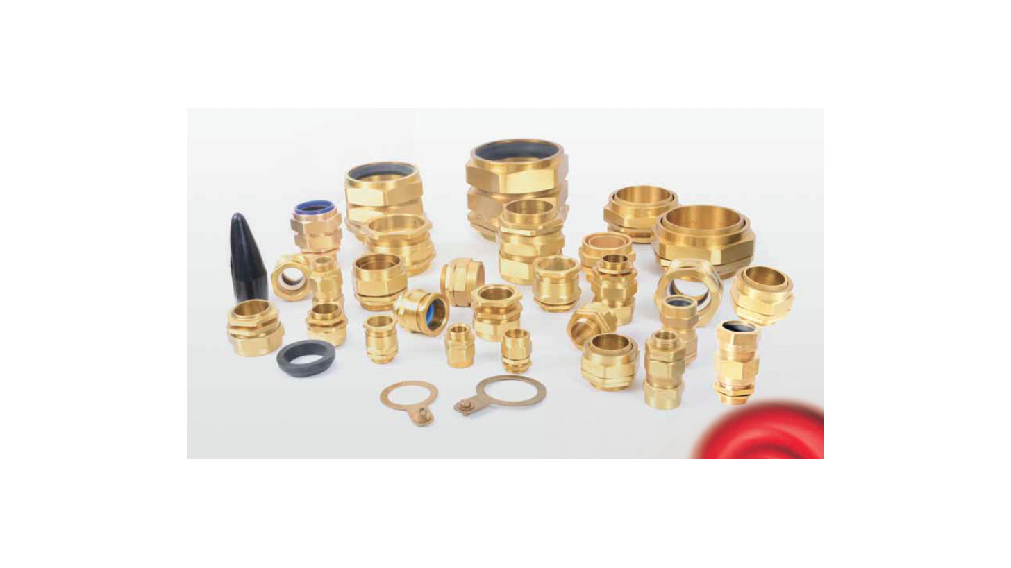 Logo Brass Cable Glands