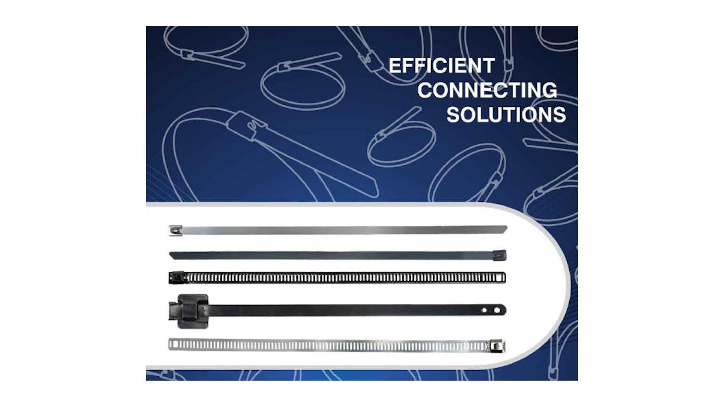Logo Stainless Steel Metal Cable Ties