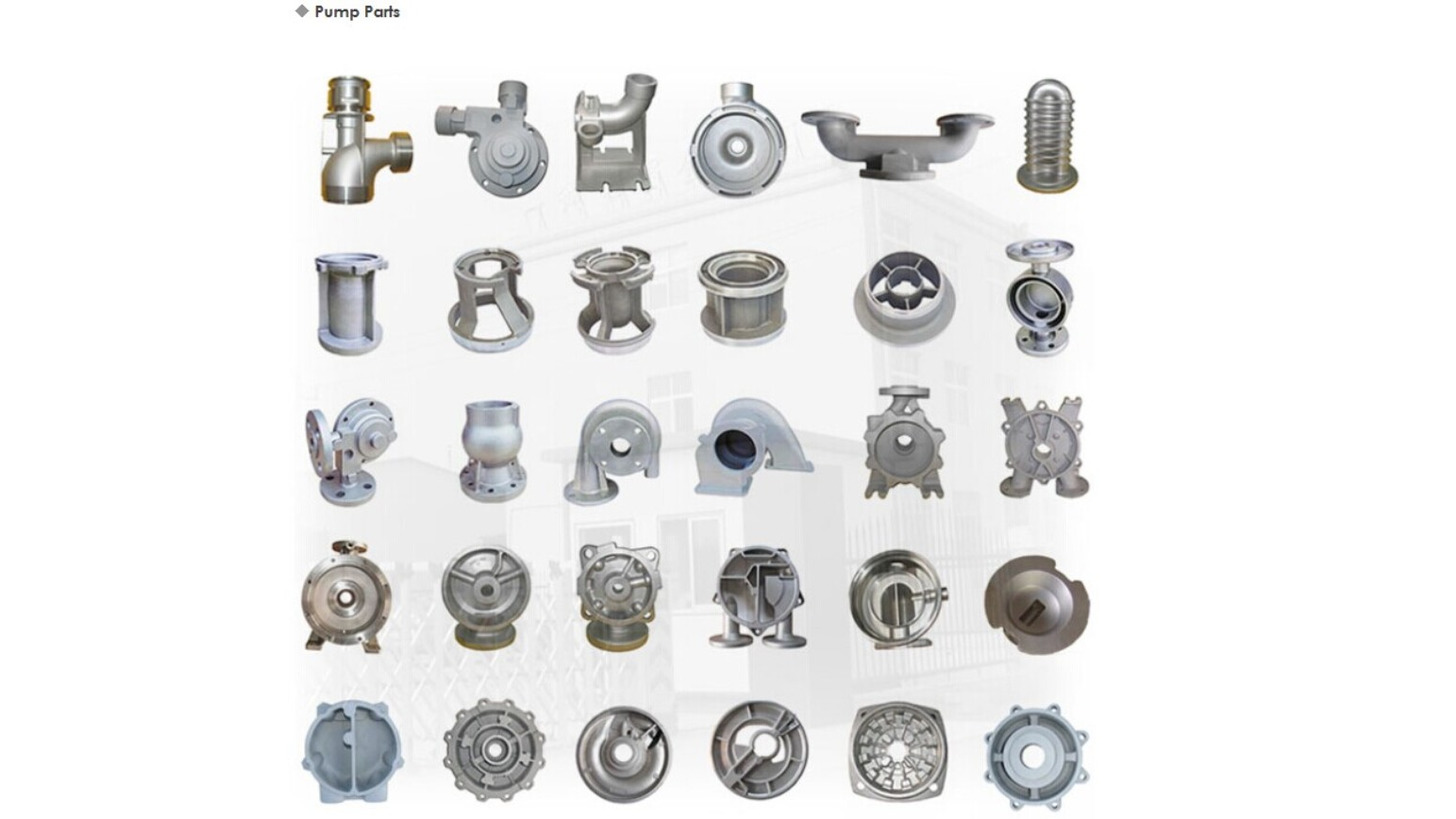 Logo Casting Stainless Steel Pump Parts