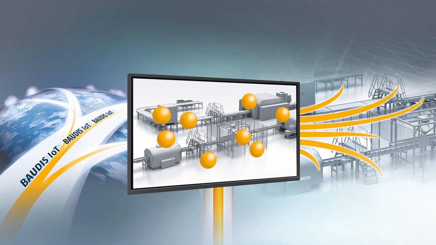 Logo BAUDIS IoT Predictive Maintenance System