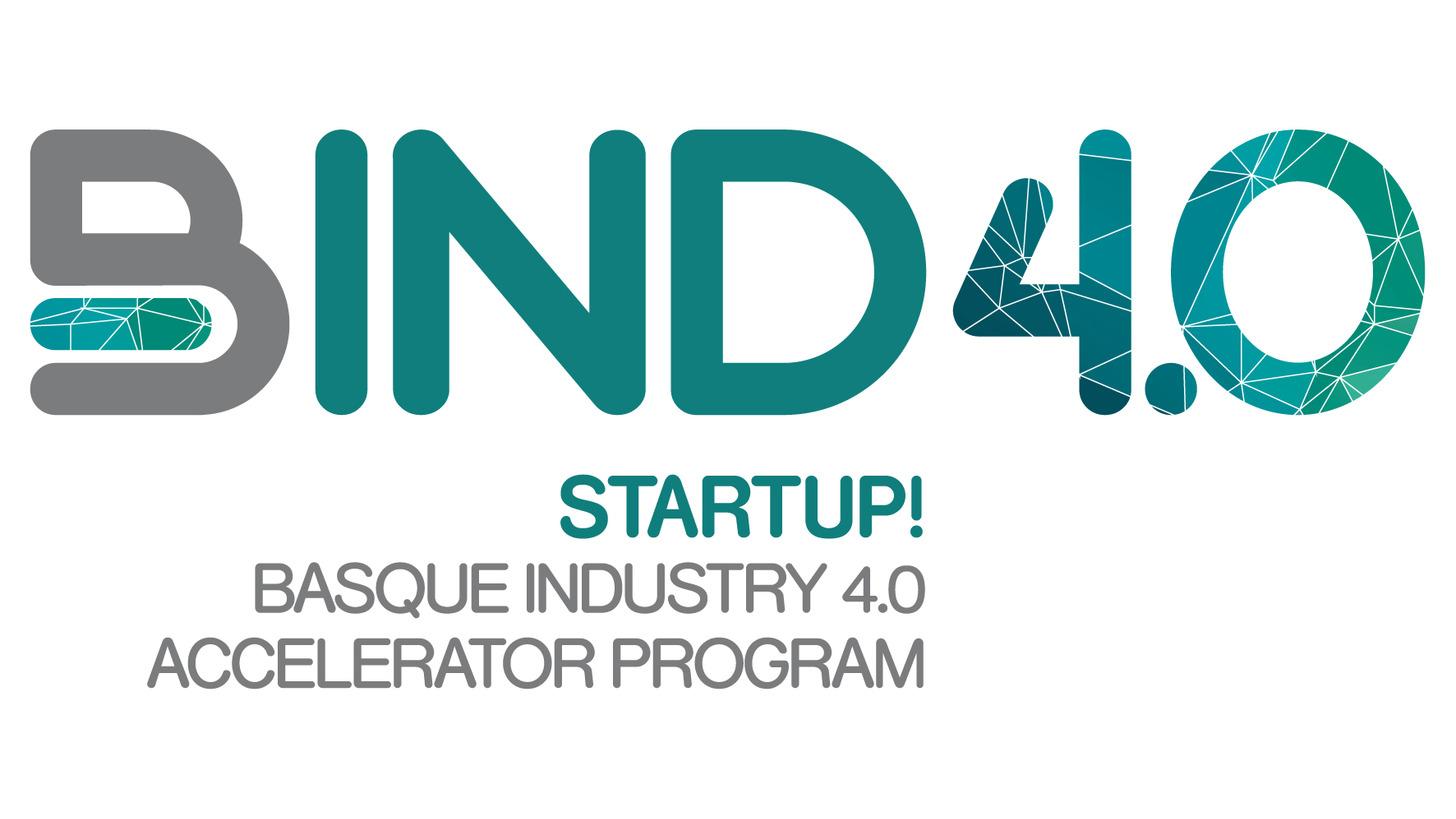 Logo BIND 4.0 Startup accelerator program