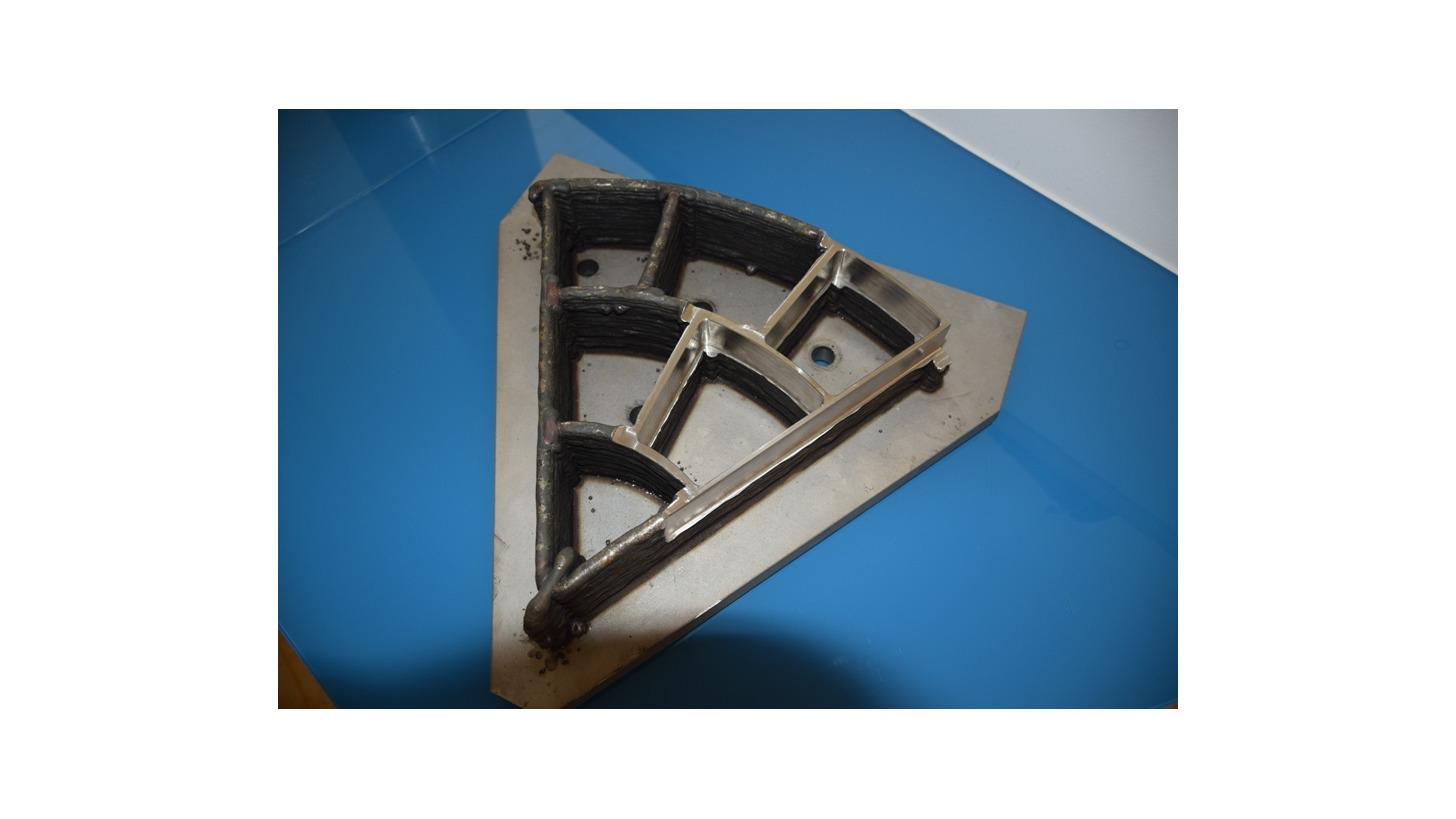 Logo Titanium structural component