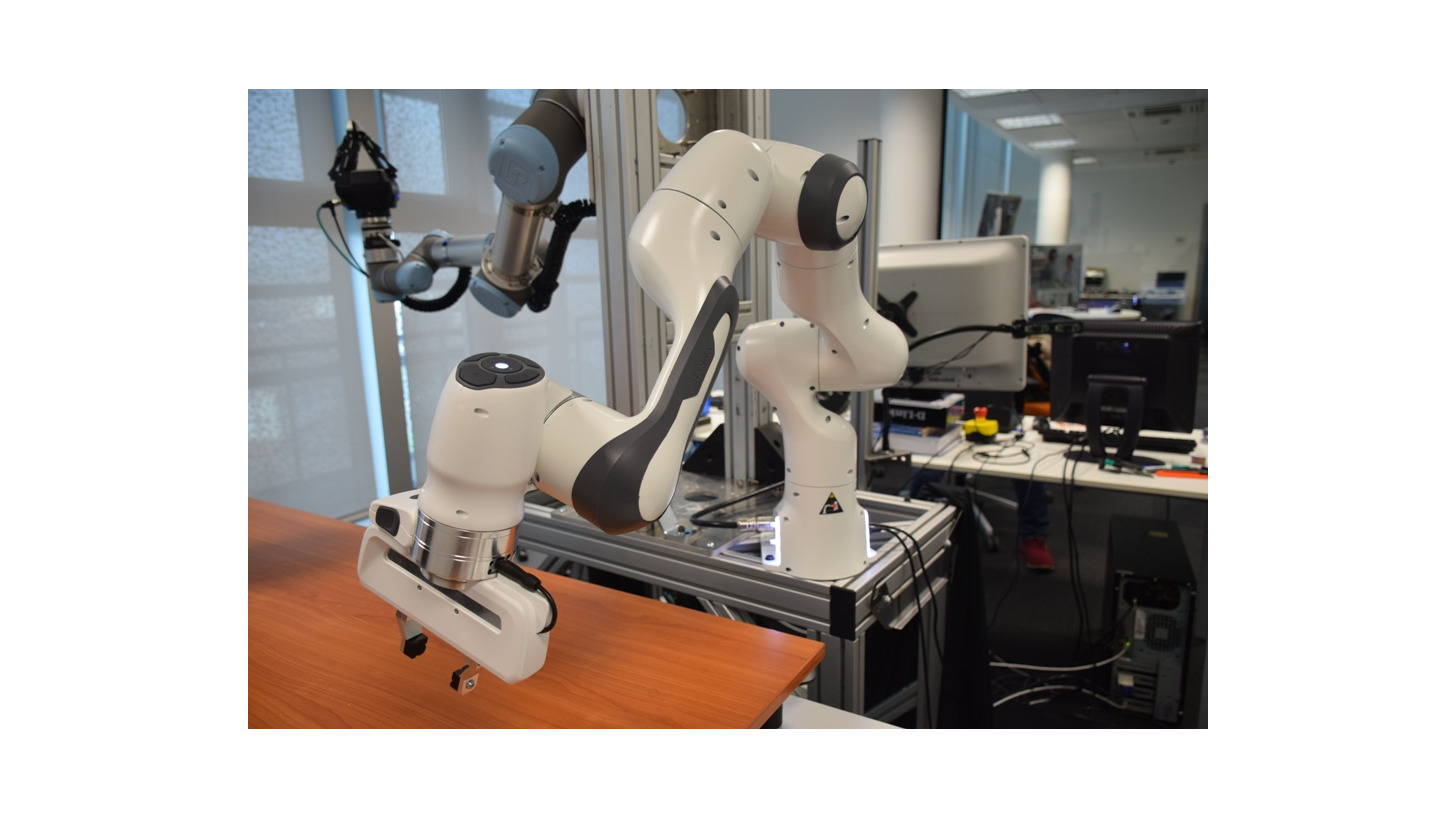 Logo Fernhandhabung durch Roboter