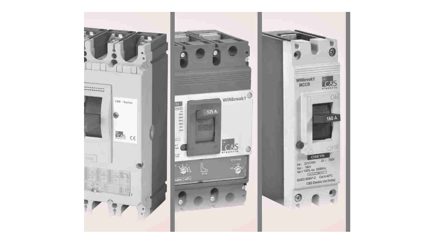 Logo moulded case circuit breakers