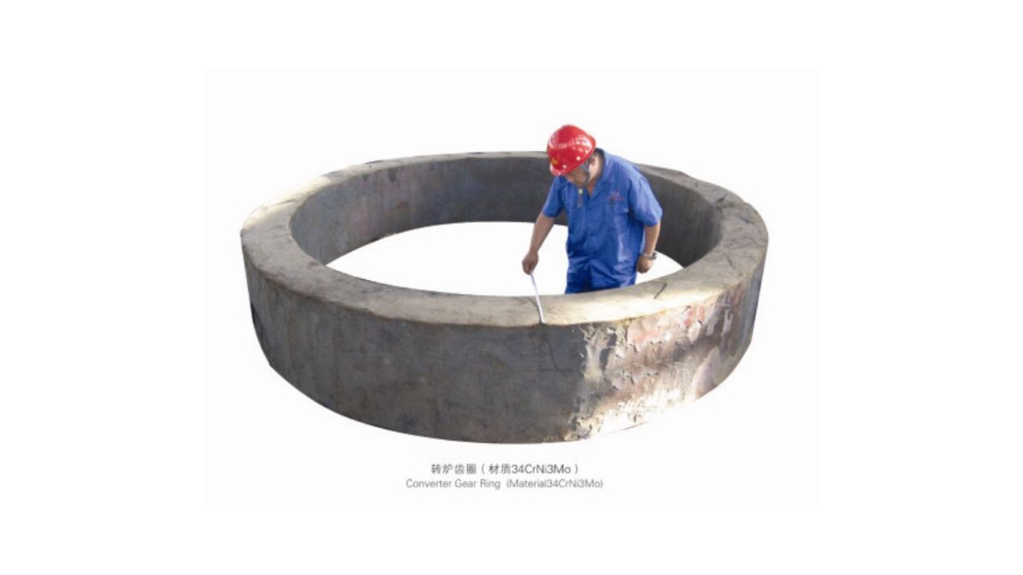 Logo Impeller/Wheel/Gear Ring Forging