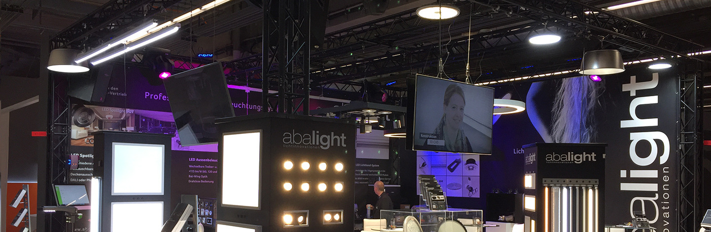 abalight (Billerbeck) - Exhibitor - HANNOVER MESSE 2018