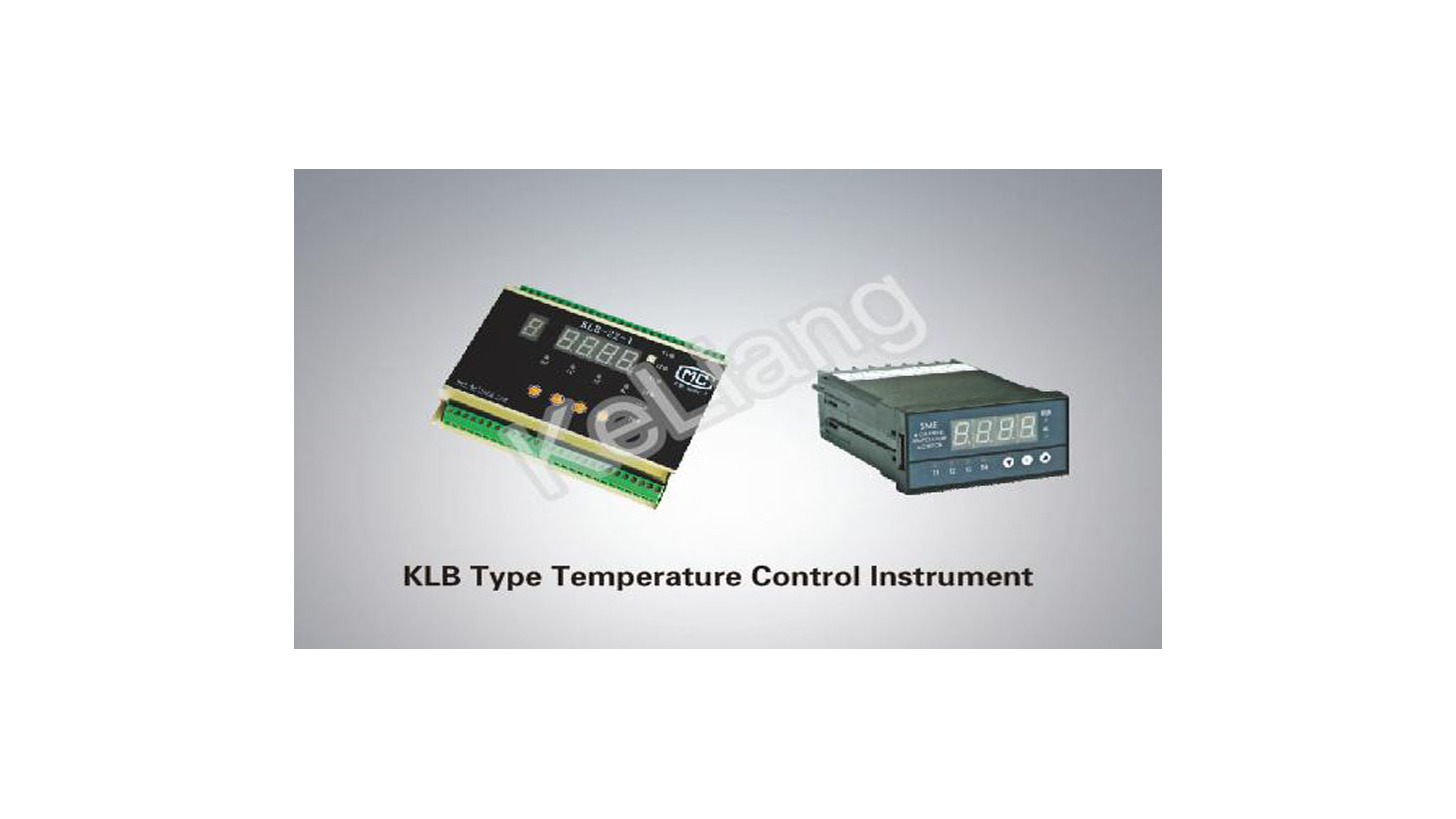 Logo KLB Type Temperature Control Instrument