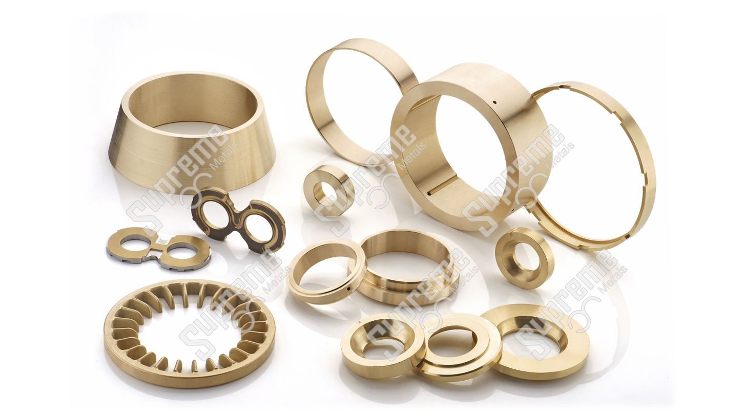 Logo Copper Alloy Casting and Components