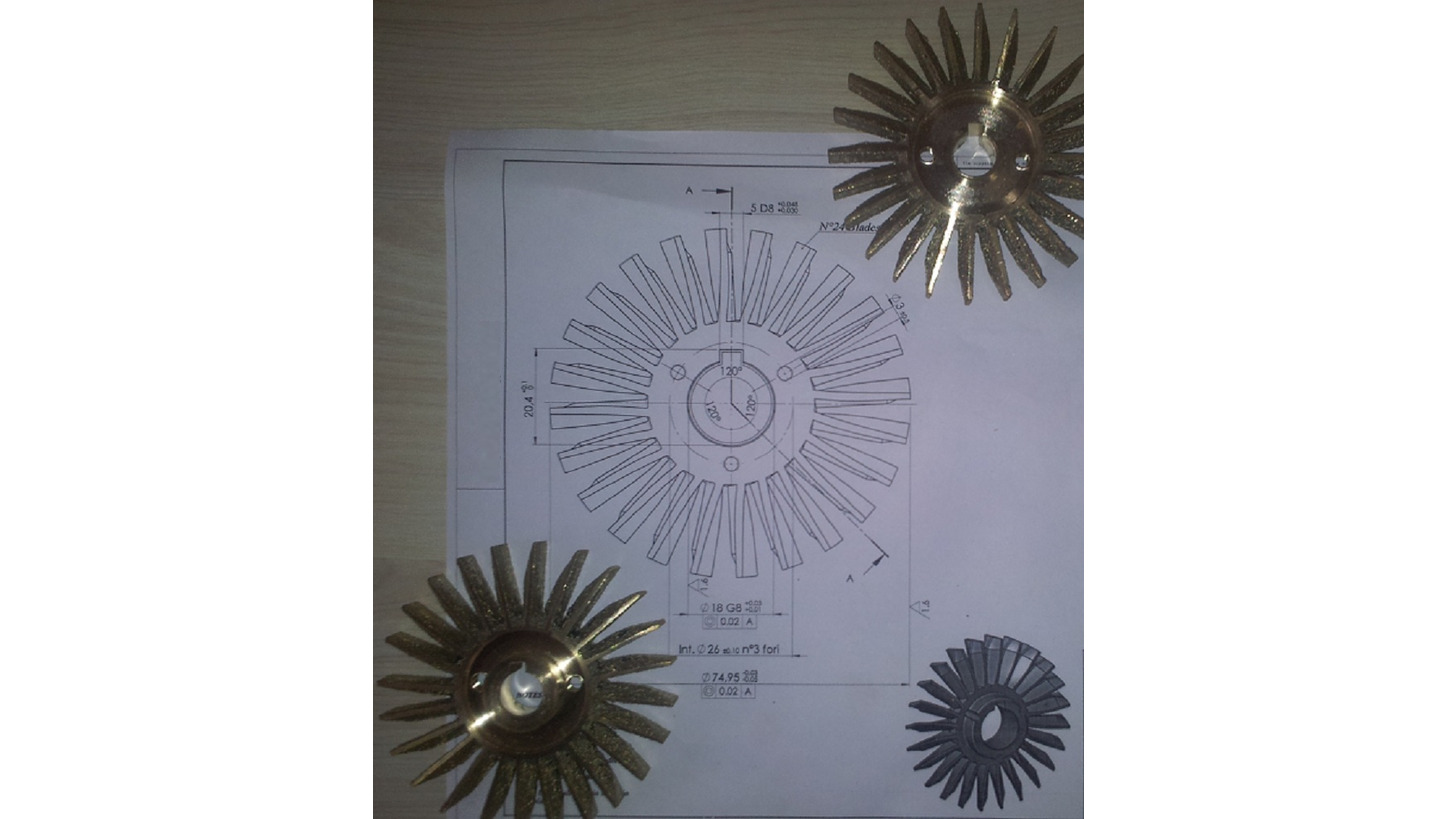 Logo Investment Casting and Machined Parts