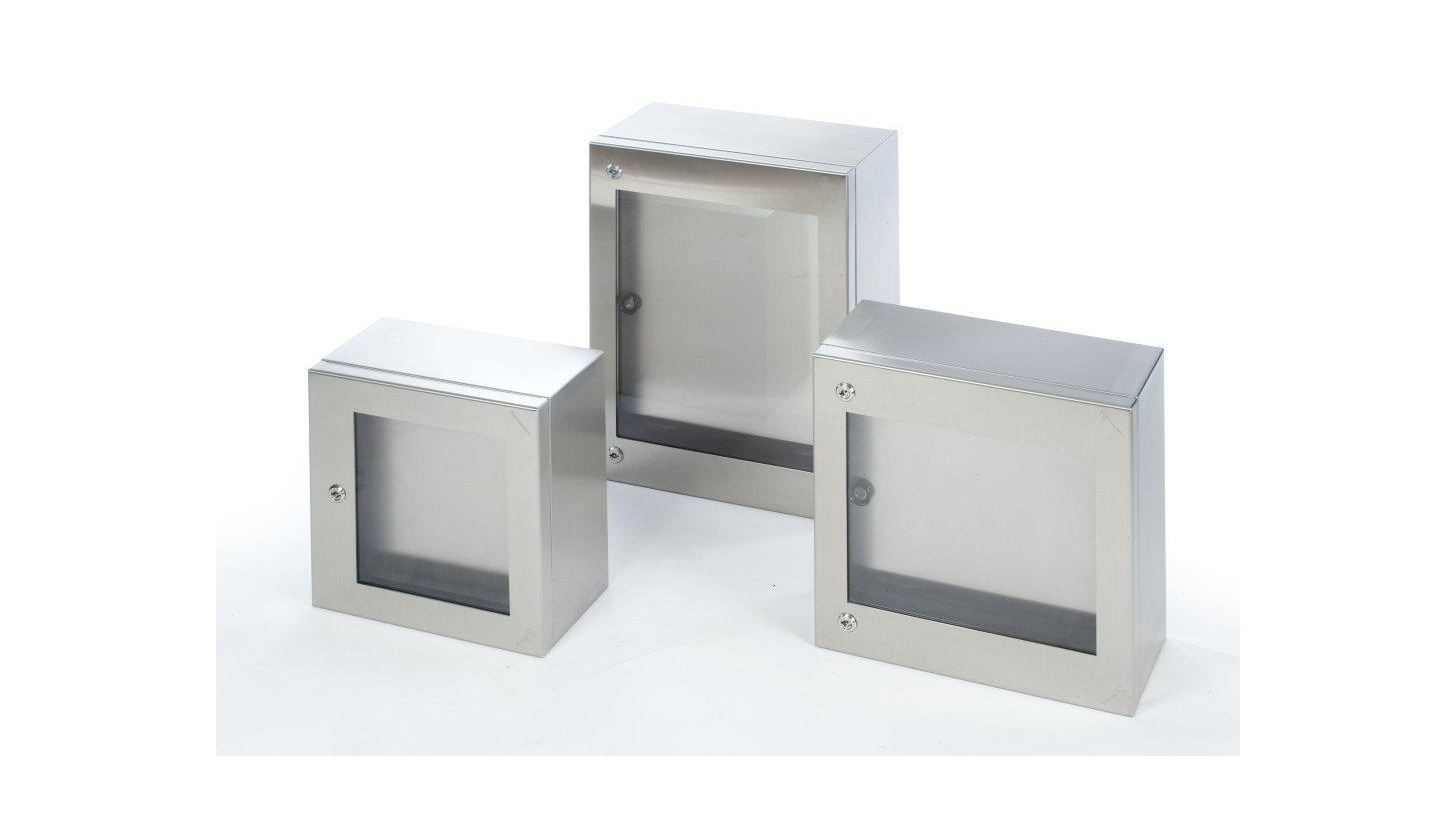 Logo TRANSPARENT DOOR BOX CLN SERIES