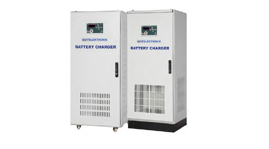 Logo Flat Battery Charger & DC Power Supplies