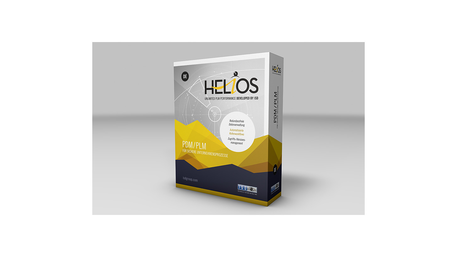 Logo HELiOS - The multifunctional PDM System