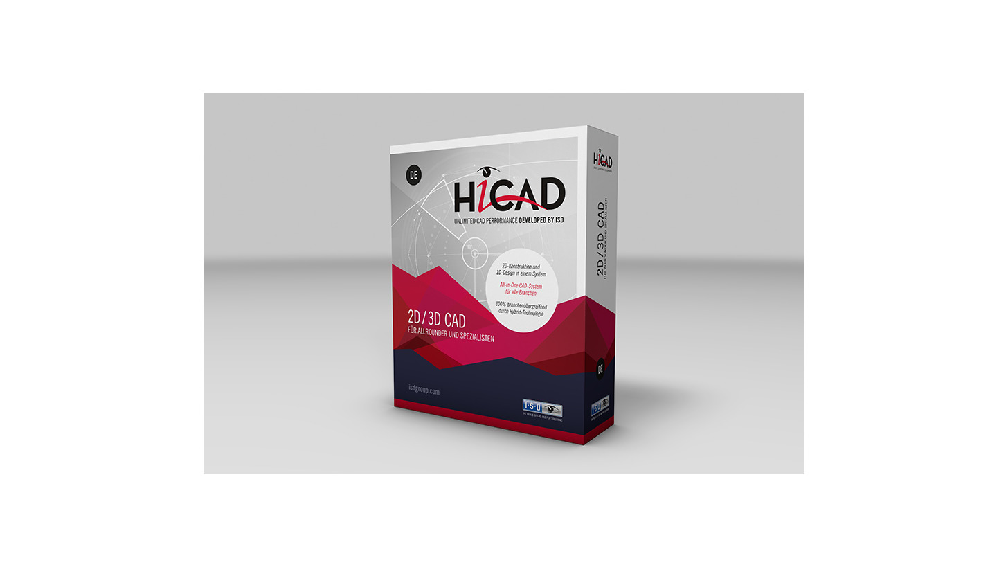 Logo HiCAD - THE ALL-IN-ONE CAD Solution