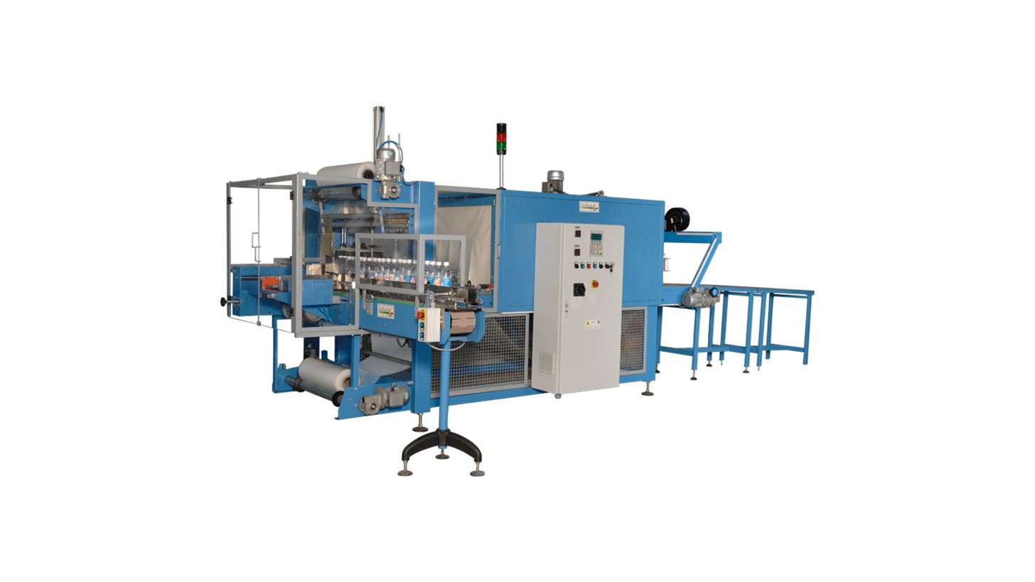 Logo Shrink wrapping machine