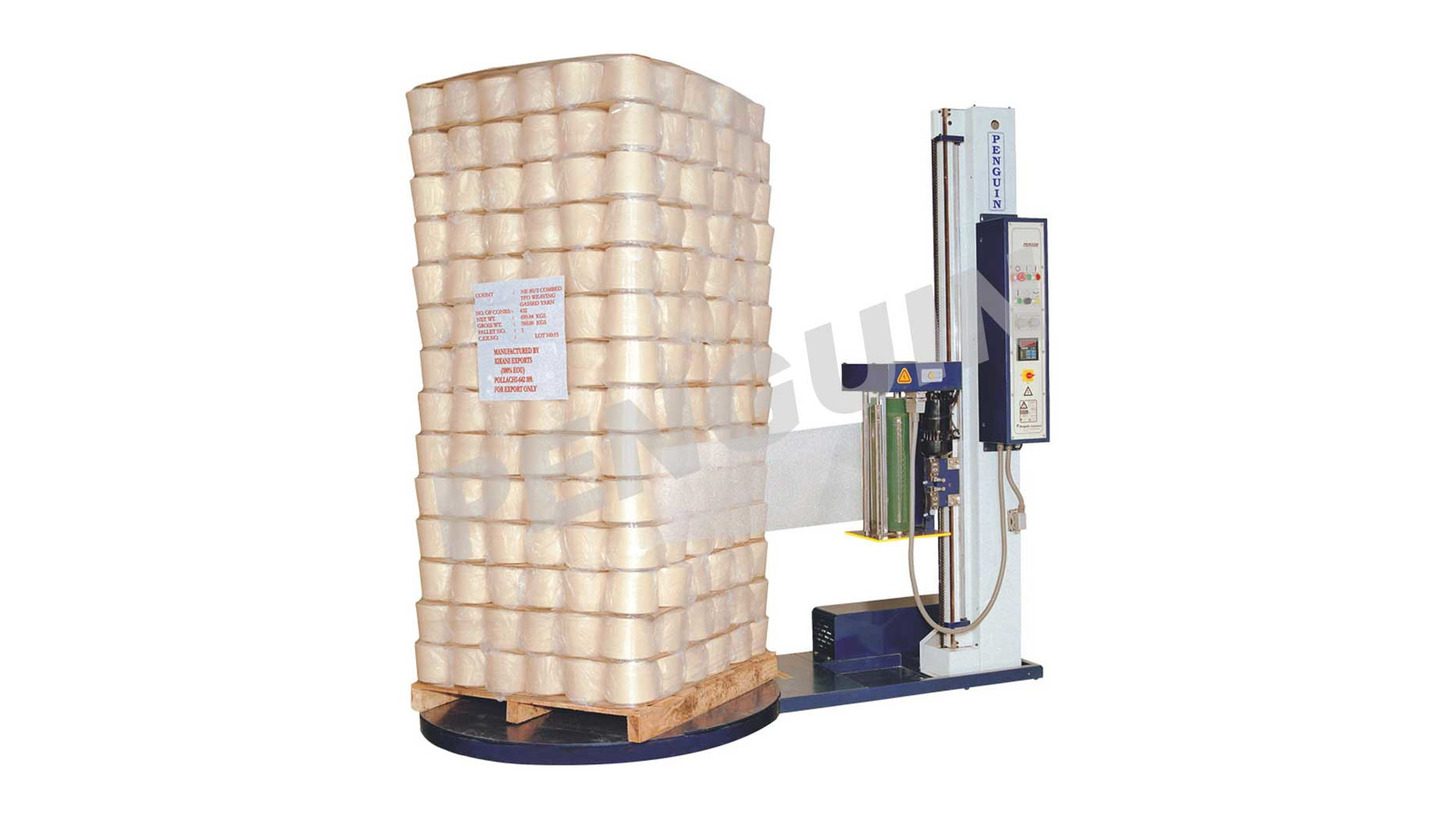 Logo PALLET PACKING MACHINE - Model Classic