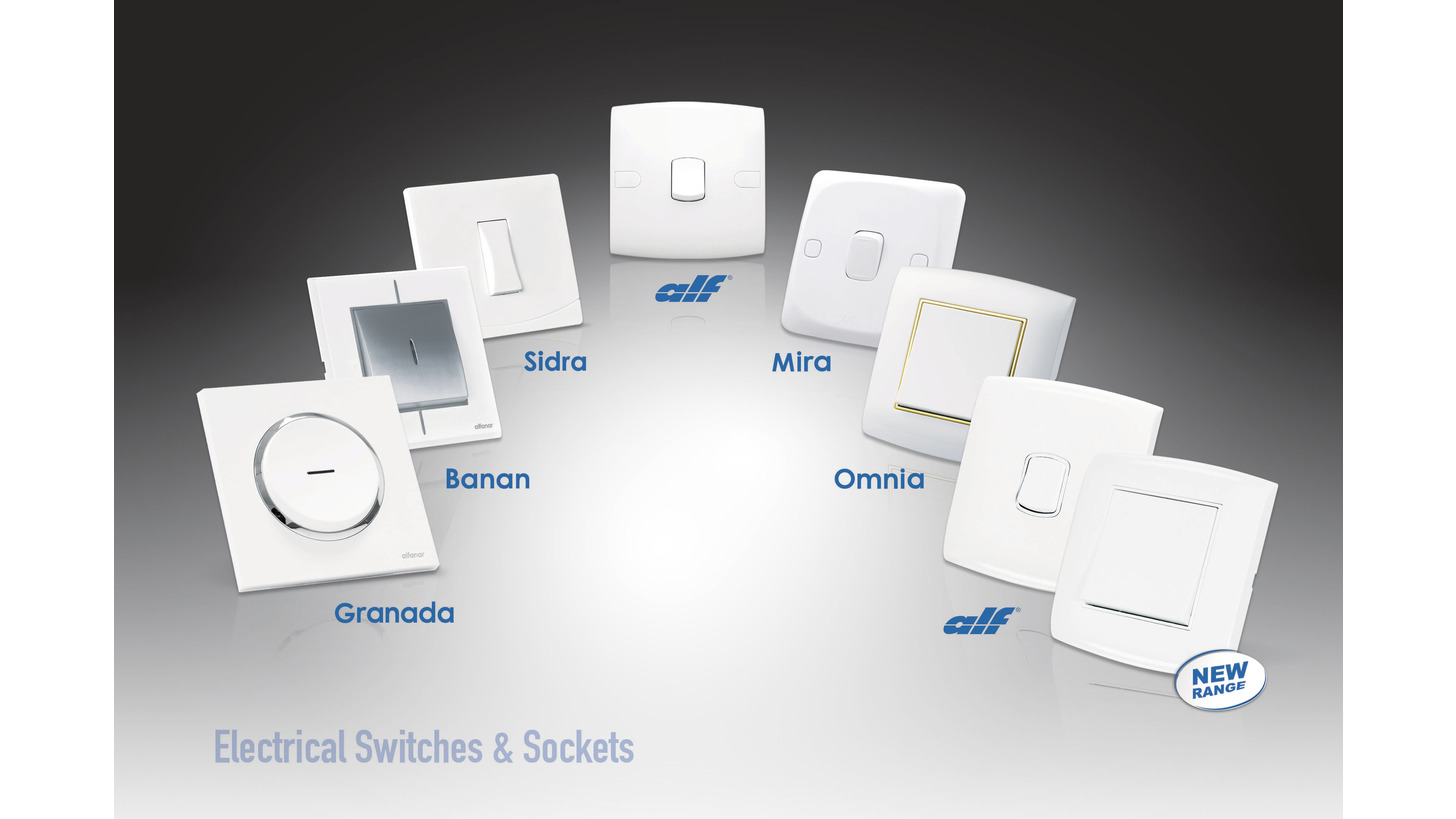 Logo alfanar wiring accessories