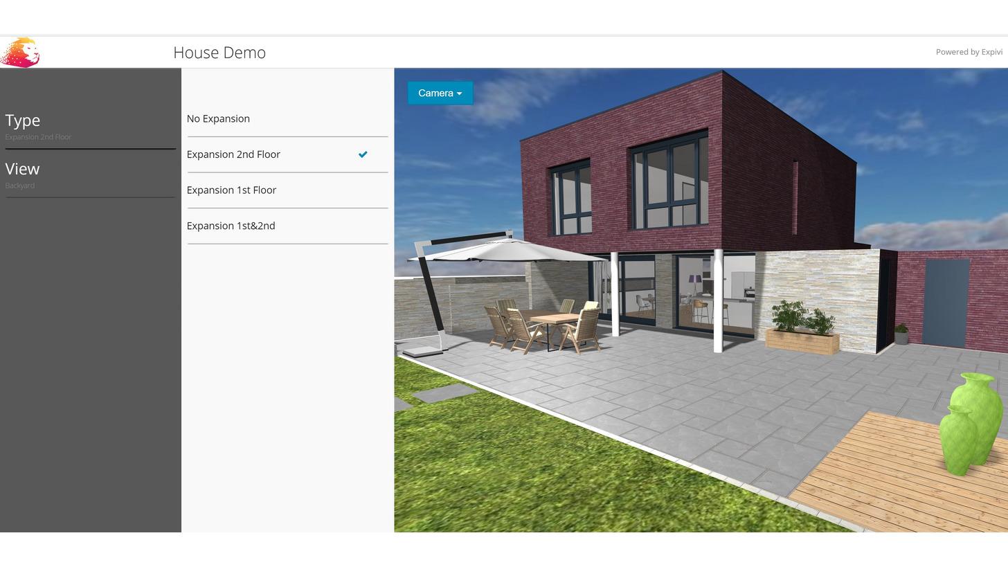 Logo 3D building configurator