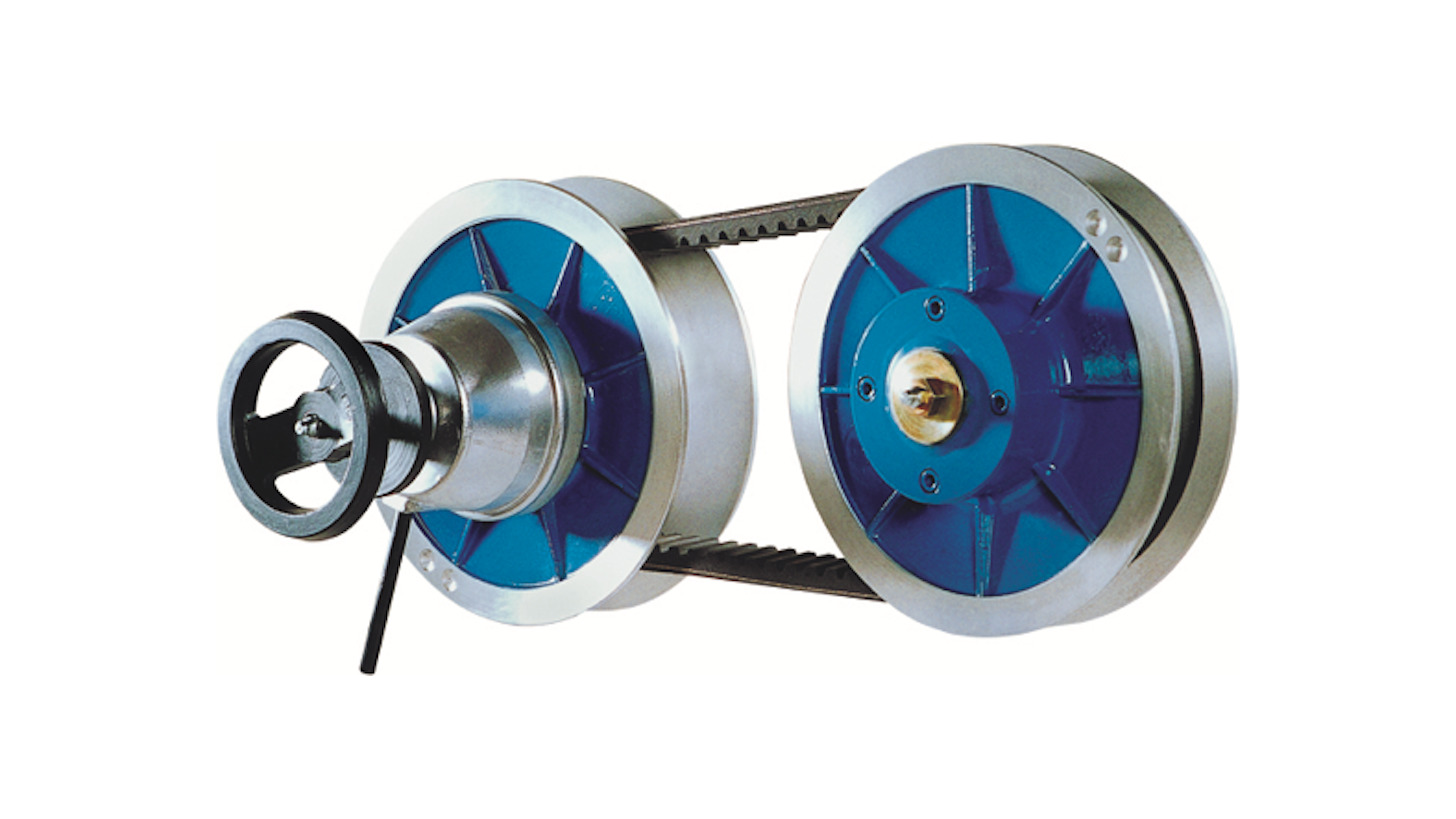 Logo Fixed Center variable Speed Pulley Drive