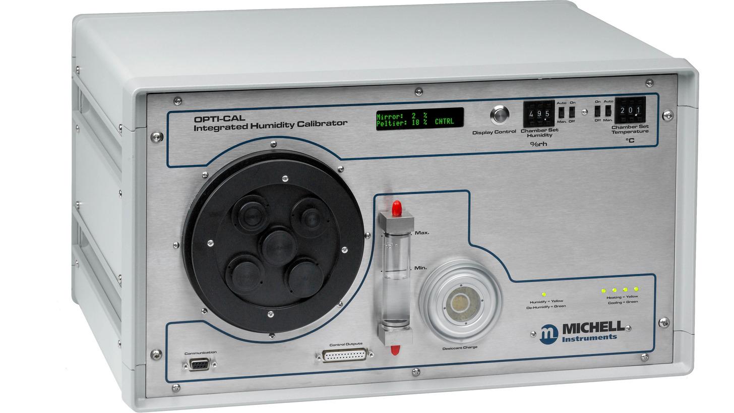 Logo OptiCal - Humidity Calibrator