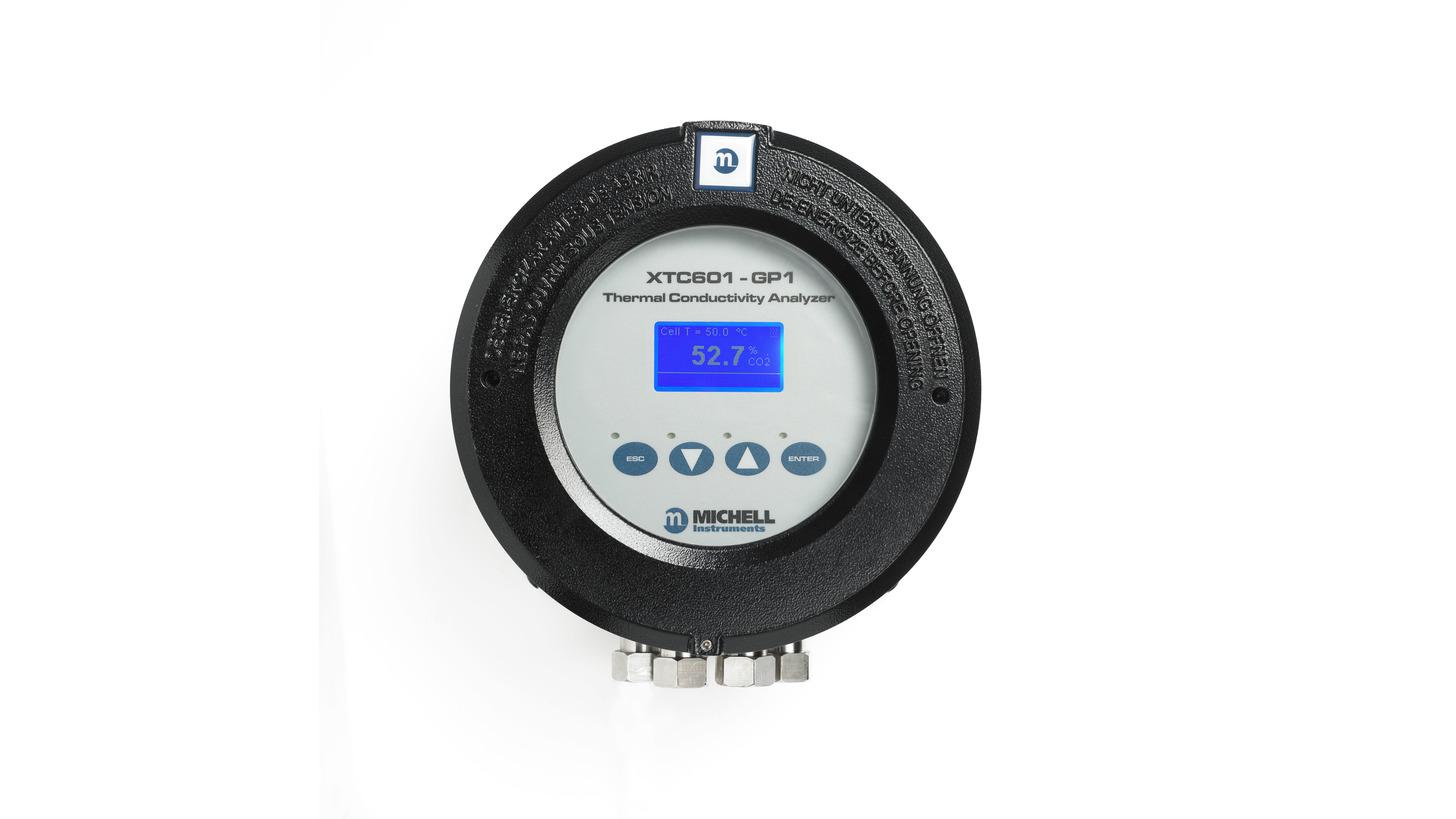 Logo XTC601 Wärmeleitfähigkeits-Analysator