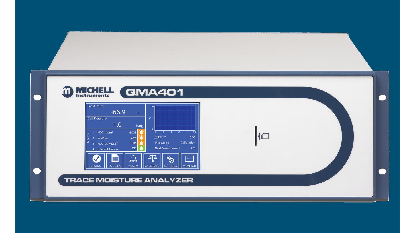 Logo QMA401 Trace Moisture Analyzer