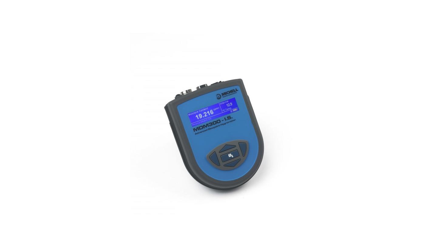 Logo MDM300IS-Tragbarer Hochleistungs-Taupunktmesser für den Einsatz im Ex