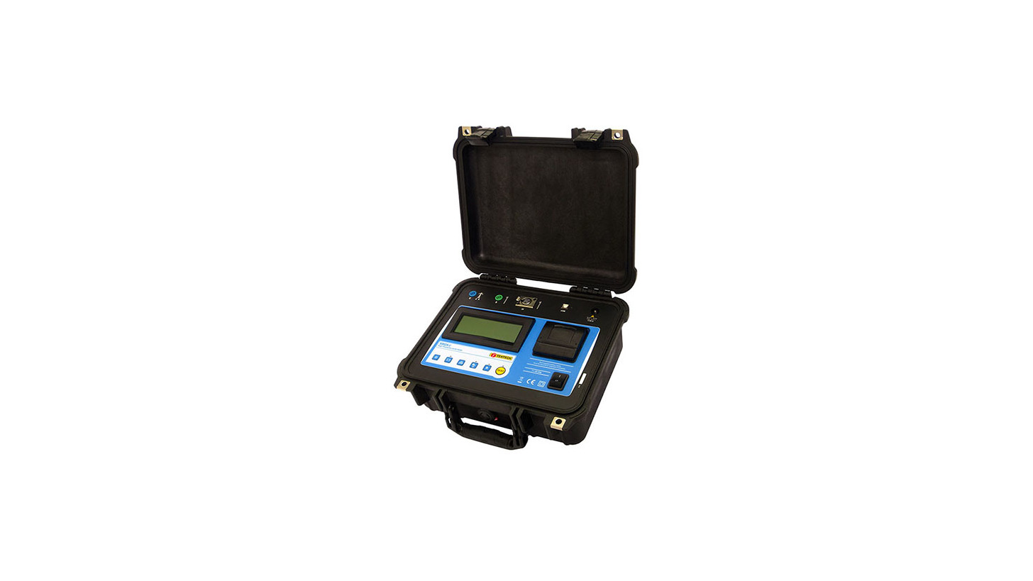 Logo TM-25r - High Frequency Earth Tester