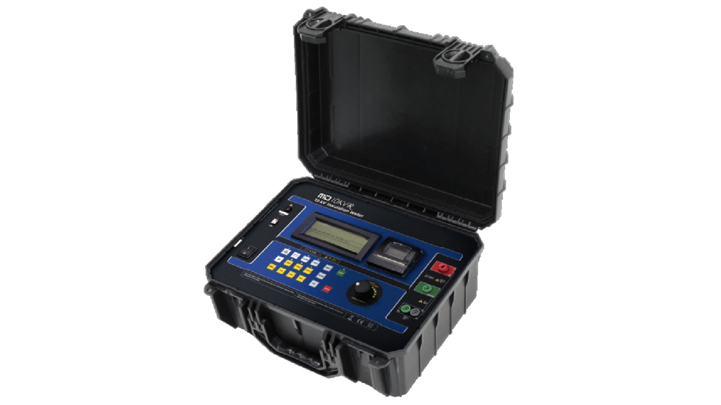 Logo Insulation Tester - MD10KVr