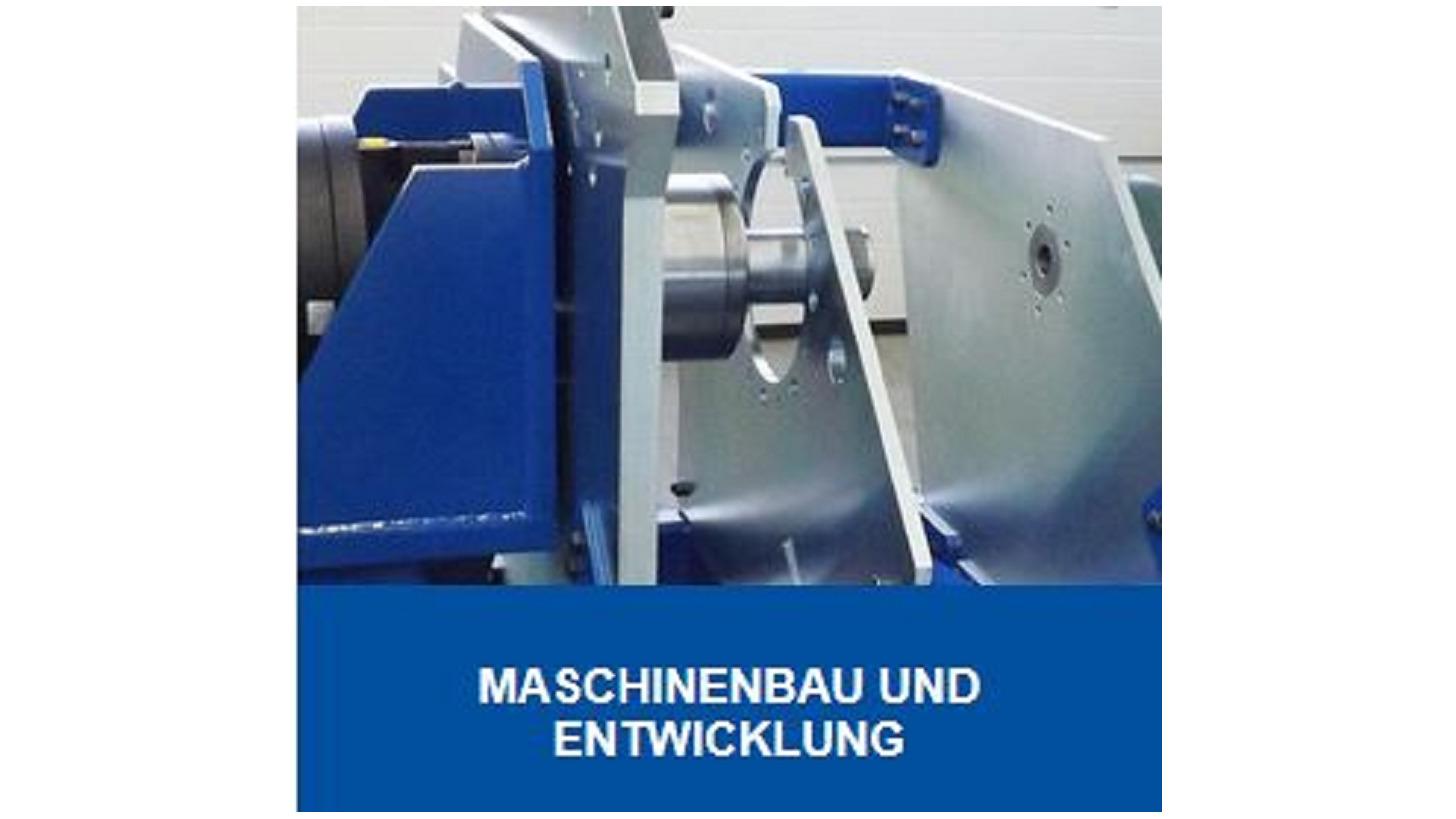 Logo Maschinenbau- und Entwicklung