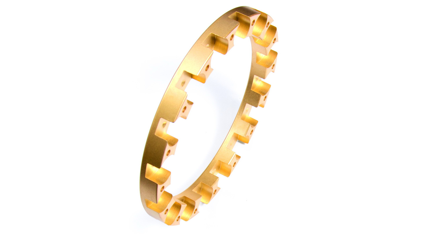 Logo Monolite Brass Bearing Cages - Third Gen