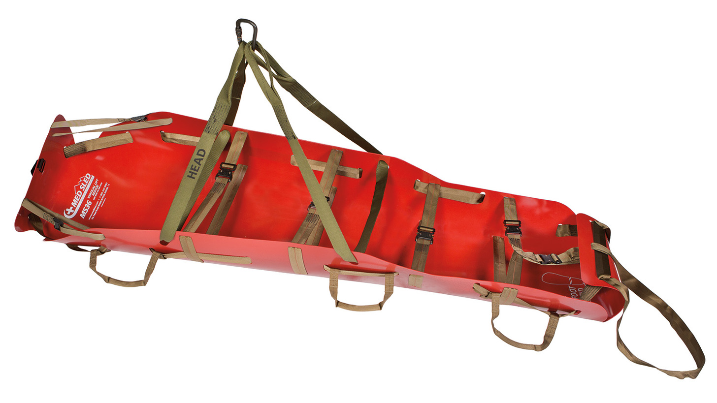 Logo Rescue-/Transport Sled by MED SLED, MS30