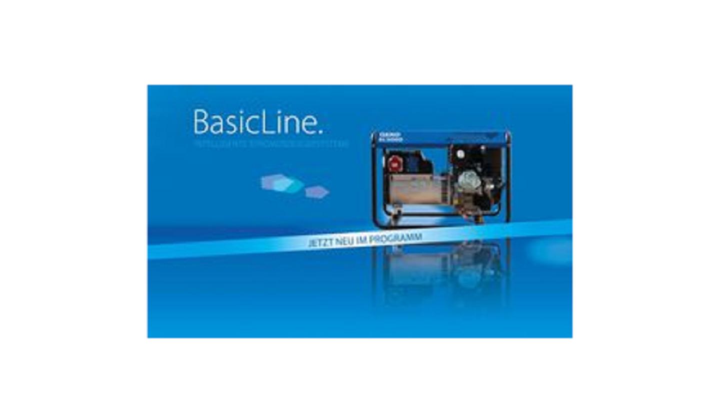 Logo Die neue BasicLine von GEKO