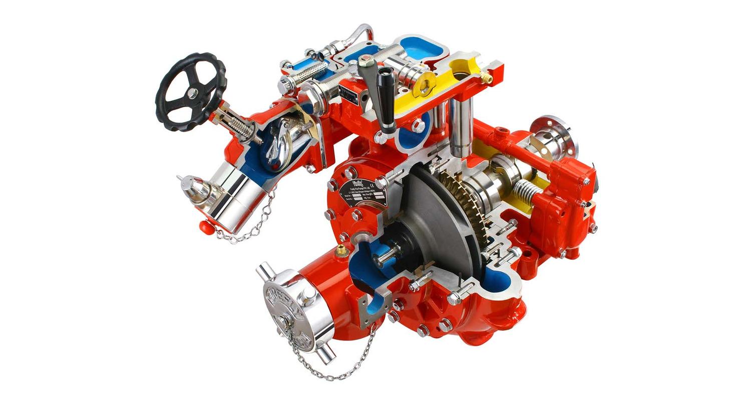 Logo Multi Pressure Truck Mounting Fire Pump