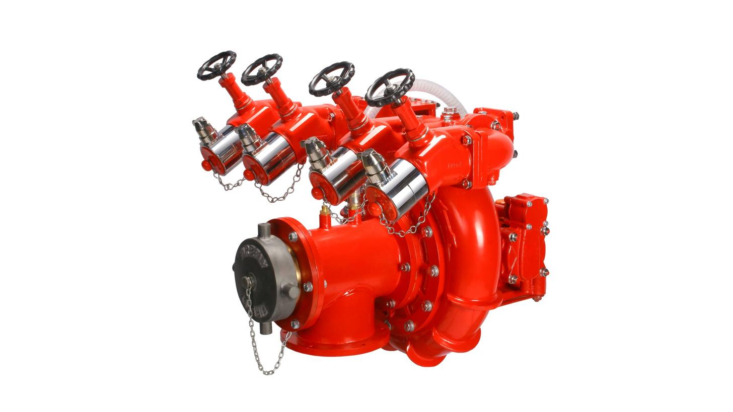 Logo Normal Pressure Truck Fire Pumps